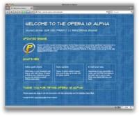Opera 10.0 Alpha 1 ya disponible para descarga