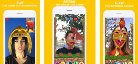QT Face, un juego plagado de stickers para tu cara que podrás jugar por videollamada