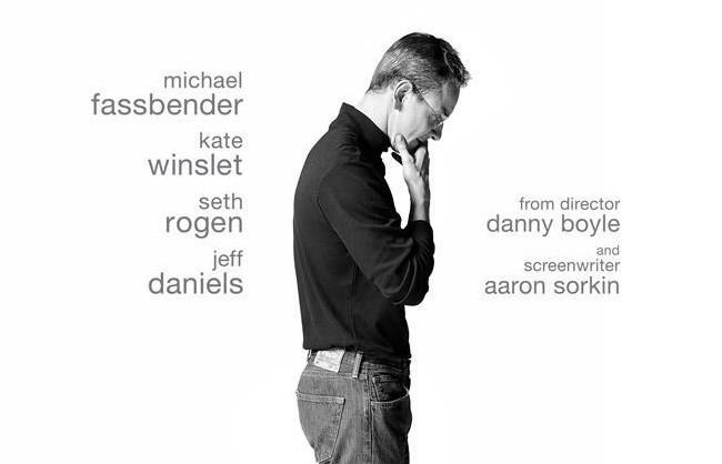 Fassbender como Jobs en el póster de la película