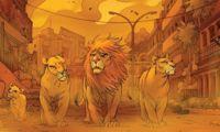 'Los leones de Bagdad', una fábula sobre la guerra