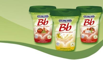 Nuevas ensaladas para beber de Bb