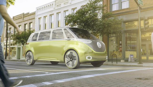 Volkswagen y Apple se alían para llenar Apple Park de lanzaderas eléctricas, autónomas y muy chic