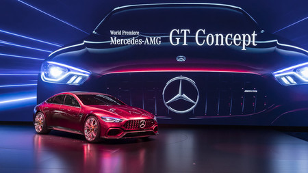 Mercedes-AMG GT Concept: el cuatro puertas de la familia GT le pisa los talones al Porsche Panamera
