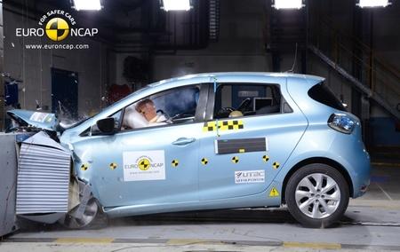Renault ZOE: cinco estrellas Euro NCAP