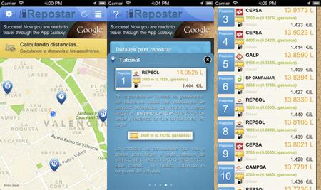 Repostar, una aplicación muy interesante para encontrar las gasolineras con el precio más bajo