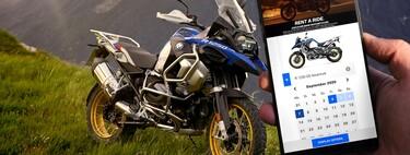 BMW lanza Rent a Ride, un servicio premium de alquiler de motos que ya se puede utilizar en España