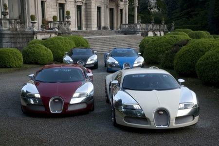 Bugatti Veyron Centenaire Edition, ¿el más exclusivo en Villa d'Este?