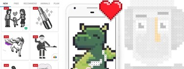 Color and draw: eight applications to create Pixel Art from Android