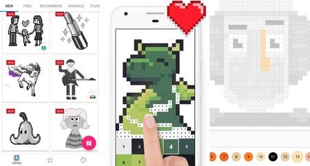 Colorea Y Dibuja Ocho Aplicaciones Para Crear Pixel Art