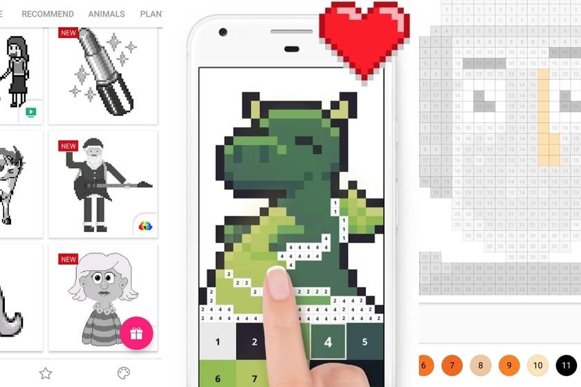 Colorea y dibuja: ocho aplicaciones para crear Pixel Art desde Android