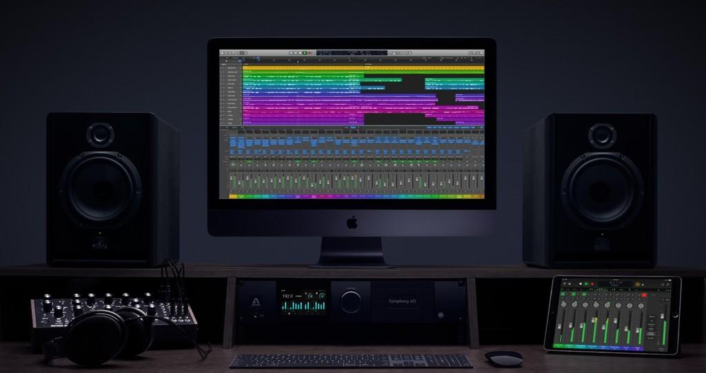 Una imagen de una nueva versión de Logic Pro X aparece en el sitio web de educación de Apple