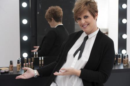 Entrevistamos a Tania Llasera con motivo de la presentación del Estudio Glamour Expose de Max Factor