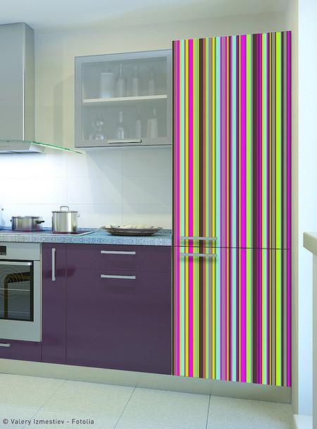 Ideas baratas para reformar la cocina sin obras hazlo t - Como forrar muebles de cocina ...