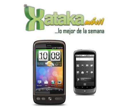 Lo mejor de la semana en Xataka Móvil: HTC Desire o Nexus One, resultado de la encuesta