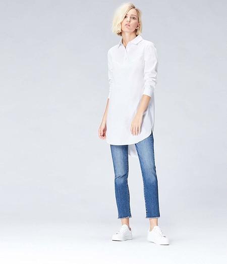 Camisa Vestido Blanco