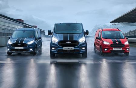 La Ford Transit amplia la familia con versiones Custom Sport, Connect Sport y Courier Sport