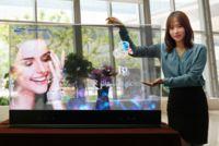 Samsung tiene nuevas pantallas con efecto transparencia y espejo, basadas en OLED