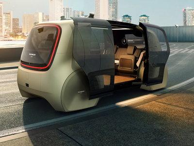 Volkswagen Sedric, así imagina la marca alemana el transporte en el año 2025