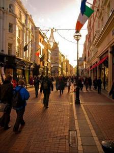 Grafton Street, la calle más animada de Dublín