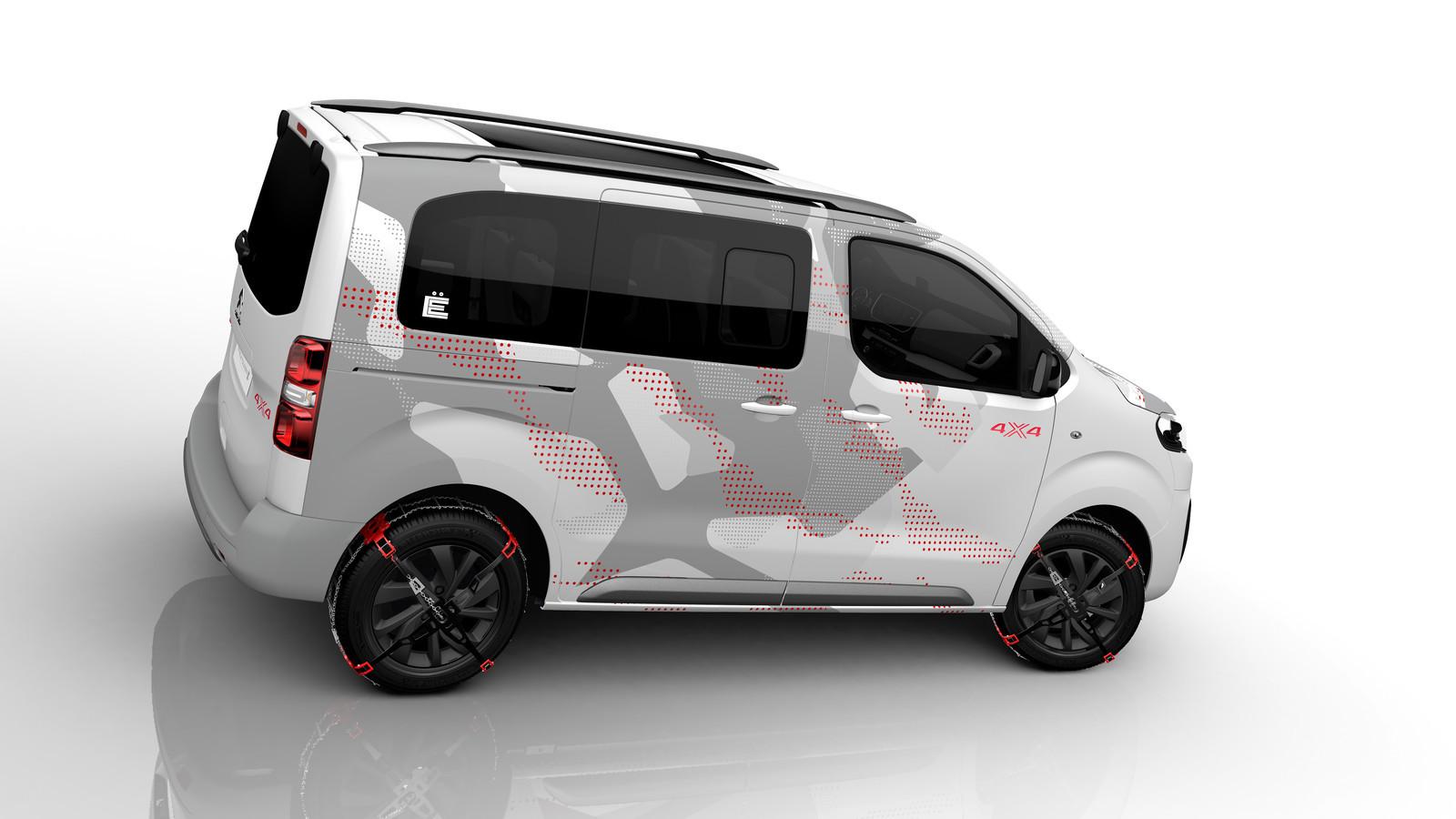 Foto de Citroën Spacetourer 4x4 Ë Concept (1/8)