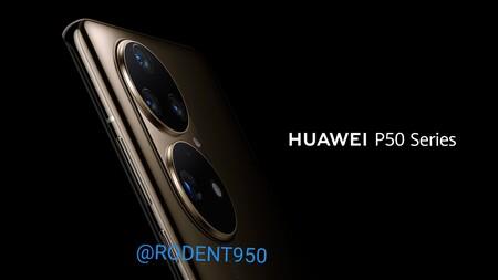 Huawei P50 Series Renders Filtrados Camara