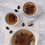 Crema catalana de café. Receta de postre para cafeteros