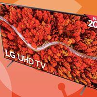 Esta enorme smart TV cuesta 300 euros menos esta semana en Amazon: LG 75UP8000 por 929,99 euros