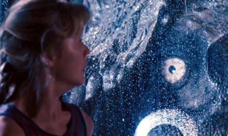 Jurassic World y Jurassic Park, linterna