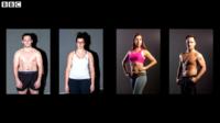 """El secreto detrás de las fotos del """"antes y después"""""""