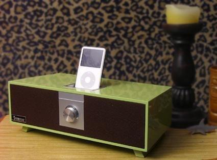 SpeckTone Retro, altavoz para el iPod
