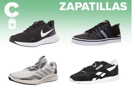 Chollos en tallas sueltas de  zapatillas Adidas, Nike o Reebok en Amazon