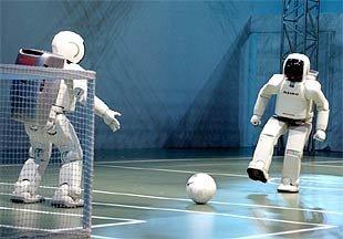 Mundial 2050, el de los robots futboleros