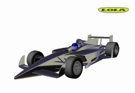 Lola presenta la última propuesta para las IndyCar Series 2012