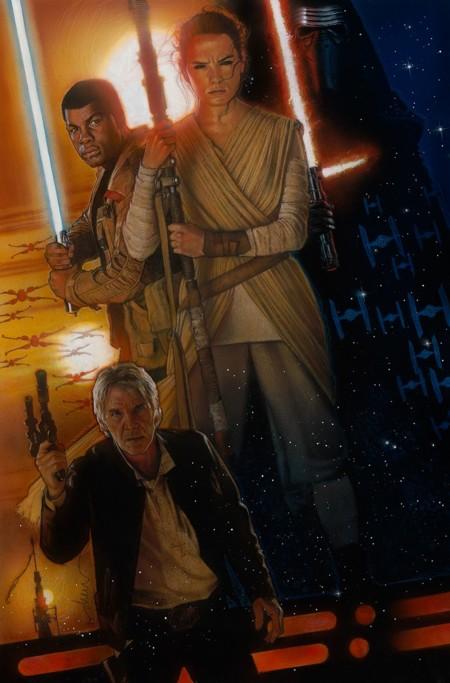 Póster oficial en alta calidad de Star Wars: El Despertar de la Fuerza