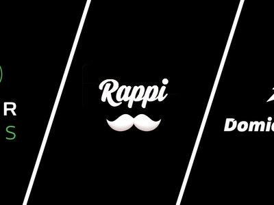 Rappi vs Domicilios.com vs Uber Eats: ¿cuál es la mejor app de domicilios en Colombia?