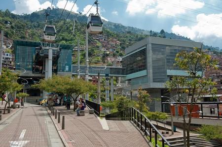 Estacion Santo Domingo Savio Metro De Medellin