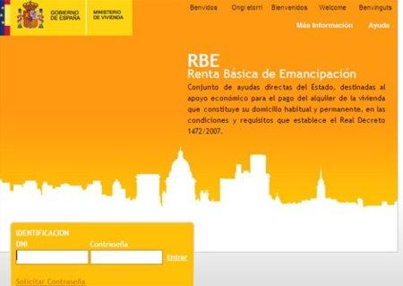Desactivada la web de la Renta de Emancipación por un grave fallo de seguridad
