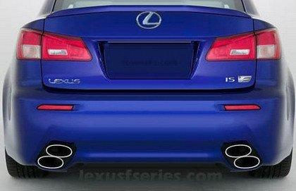 Primera foto oficial del Lexus IS-F