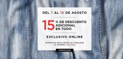 15 % de descuento adicional en Mango Outlet hasta el 10 de agosto