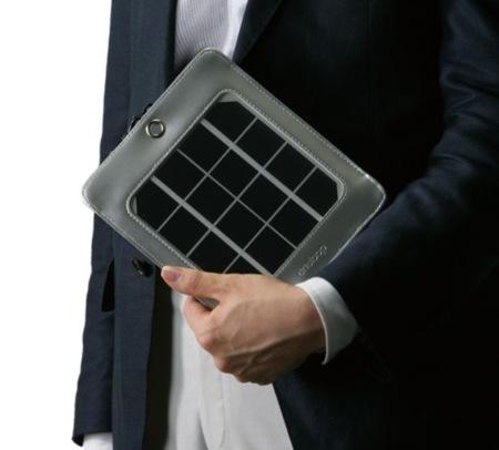 Cargador solar de Sanyo