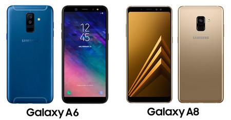Galaxy A6 Vs Galaxy A8