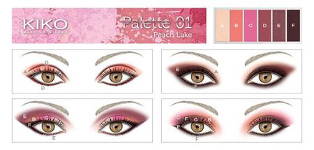 Palette 01 Peach Lake