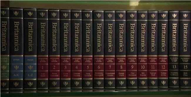 La Wikipedia acaba con la enciclopedia Británica  en su edición de papel