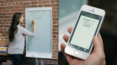 SMART kapp, una pizarra de apariencia tradicional con solución plug-and-play