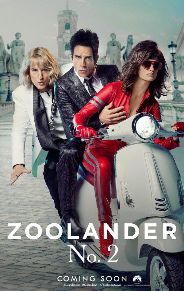 Foto de Los carteles de 'Zoolander Nº2' (1/10)