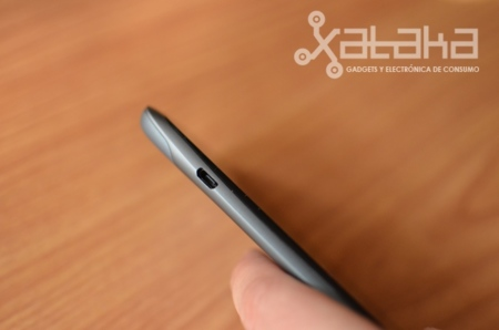 HTC One S análisis puerto