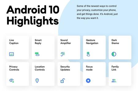 Novedades Android 10