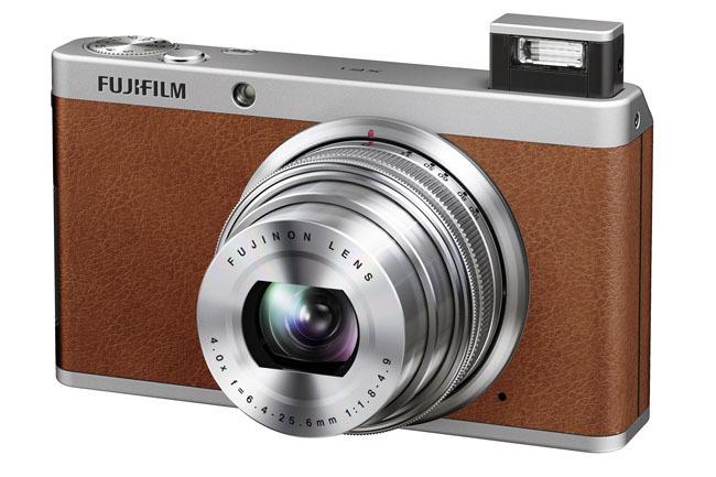 Fujifilm XF1 marrón piel