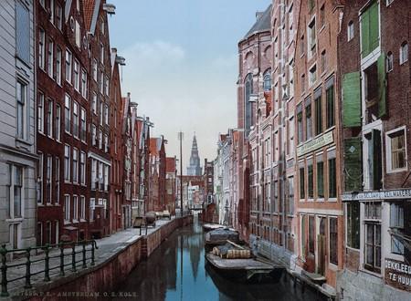Un Canal De Amsterdam