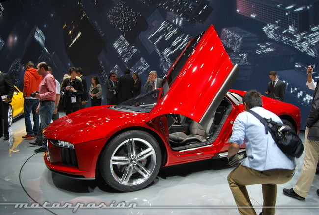 Salón de Frankfurt 2013 - Audi Nanuk Concept